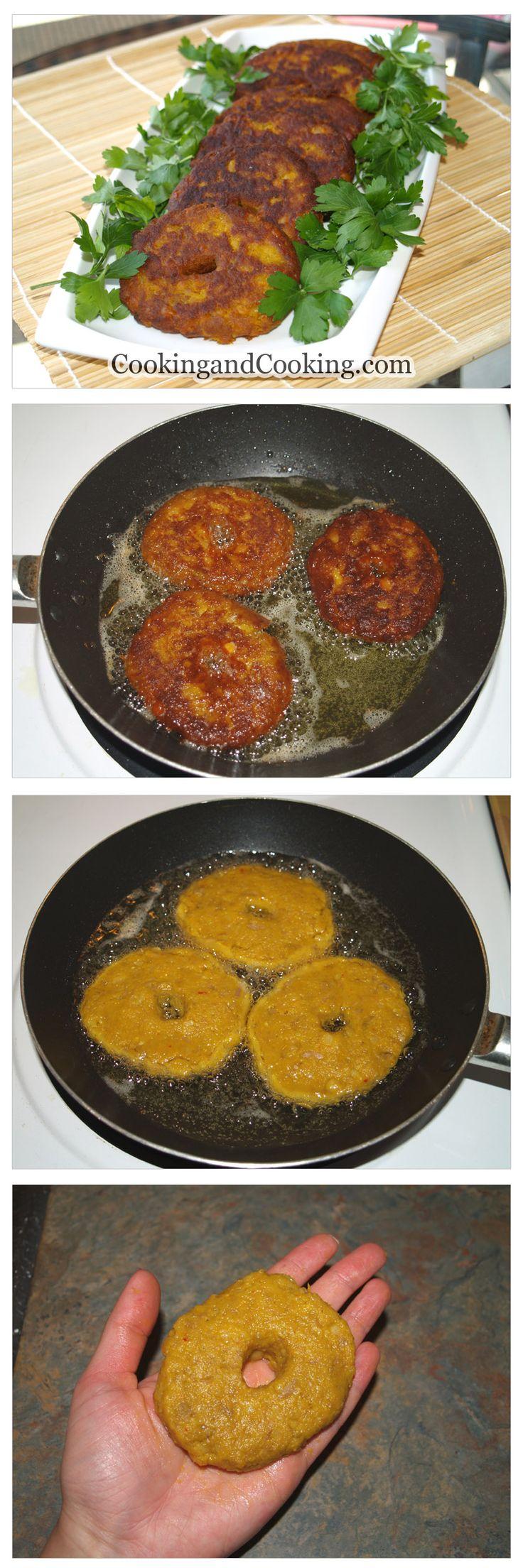 Split Pea & Meat Patties Recipe