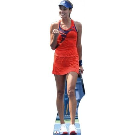 Ana Ivanovic Cardboard Cutout  Height: 184cms approx  Former Ranked No 1 tennis player from Serbia