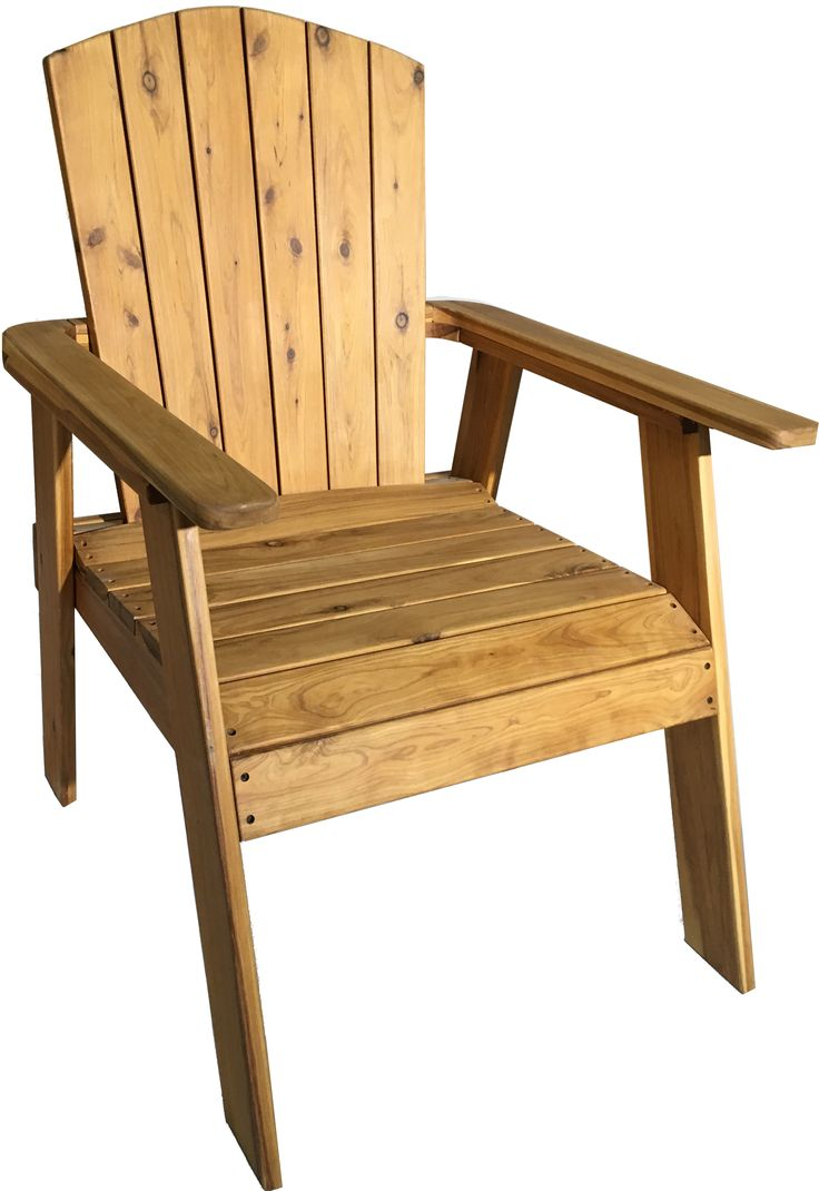 Adirondack Chair Durable Australian Cypress In Fact This Is The First One We Made