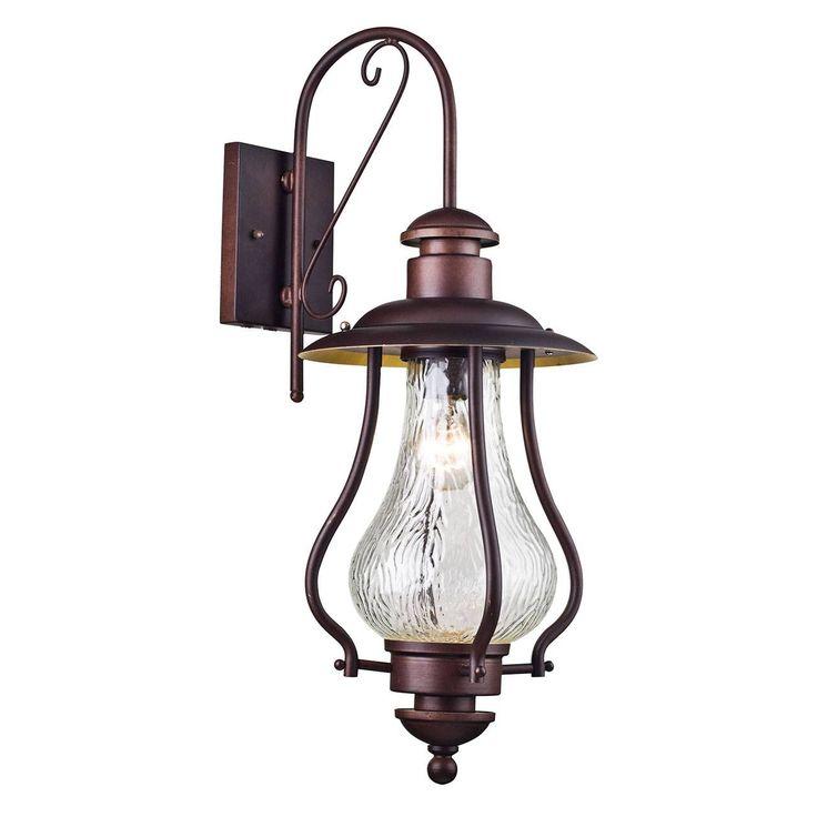 Уличный настенный светильник La Rambla S104-60-01-R производства Maytoni - купить в Набережных Челнах с доставкой от интернет-магазина ТКСвет