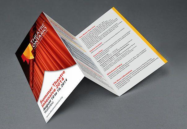 Brochure designed by www.kimtruongdesign.com