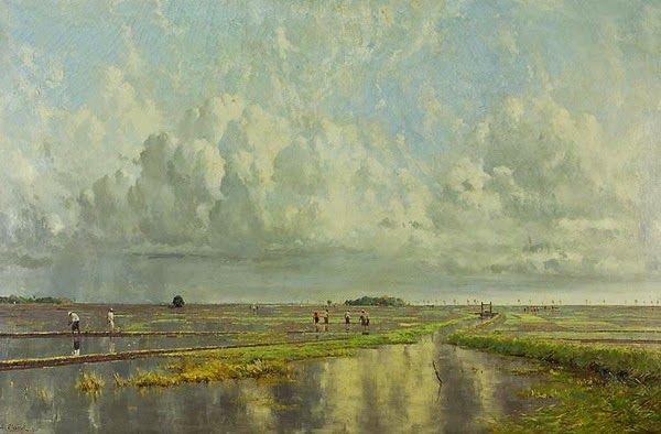 Leo Eland - Uitplanten van de rijst