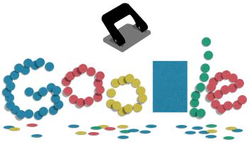 131st Anniversary of the Hole Puncher | Google Doodle 11/14/2017