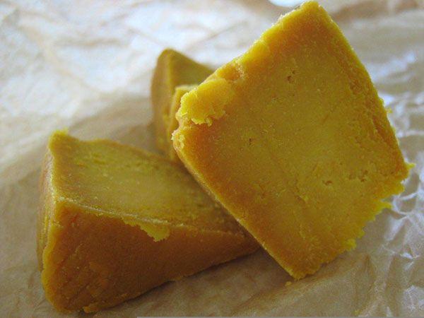 Сыр из нута и ряженки — Кхандви