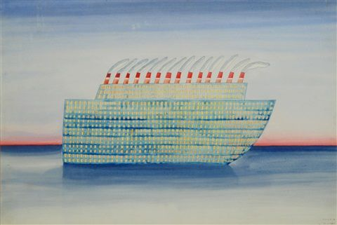 La nave by Jean-Michel Folon