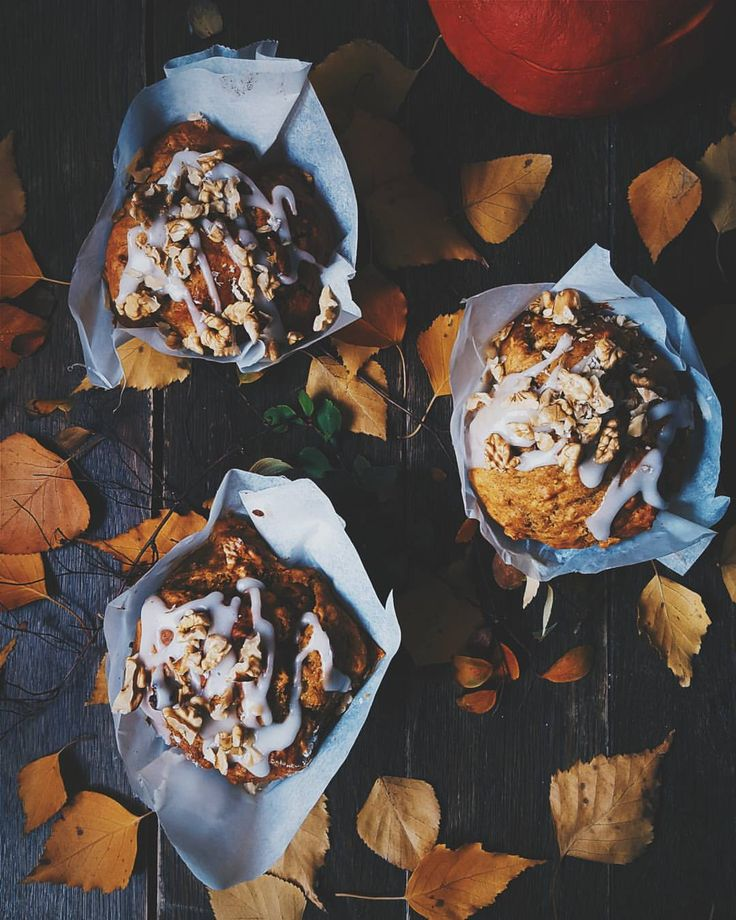 Pumpkin muffins! #halloween #pumpkin #muffins #treat