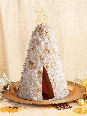 Red Velvet Chocolate Cherry Bombe | Christmas Bakery and Food | Pinte ...