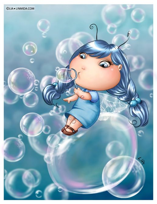 Bubble Fairy by LiaSelina on deviantART