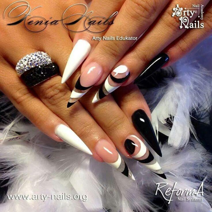 422 best Stiletto Nails images on Pinterest | Pretty nails, Stiletto ...