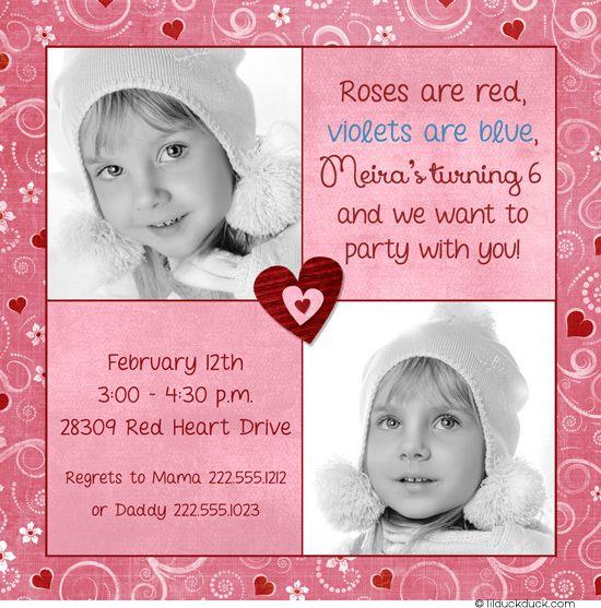 valentine invitation letter