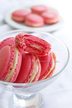 Самые простые macarons : мастер-класс | Четыре вкуса