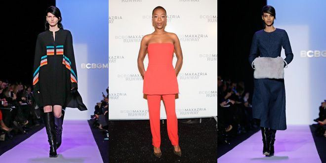 'Orange is the New Black' actress goes strapless at BCBG – in an orange jumpsuit | canada.com