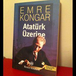 Emre Kongar / Atatürk Üzerine (İkinci El Kitap)