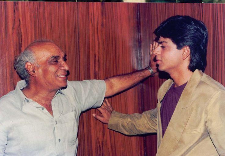 Image result for yash chopra shahrukh khan