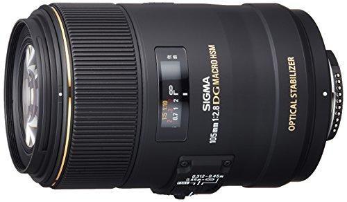 Oferta: 470.00€ Dto: -25%. Comprar Ofertas de Sigma 105mm F2.8 EX DG OS HSM - Objetivo para Nikon (distancia focal fija 105mm, apertura f/2.8-22, diámetro 79mm), negro barato. ¡Mira las ofertas!