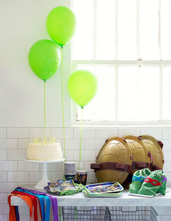 Modern Ninja Turtles Party | Oh Happy Day!