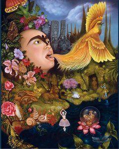 Tino Rodriguez: Xochipilli's Ecstatic Universe  (1000 Piece Puzzle by Pomegranate)