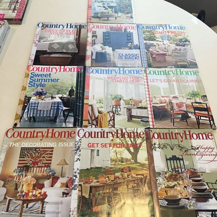Country Home Decor Magazines: 17 Best Ideas About Country Home Magazine On Pinterest