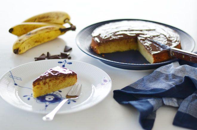 Glutenfri banankage / Gluten free bananacake
