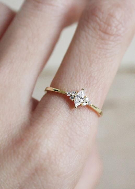 Marquise-Ring #marquise