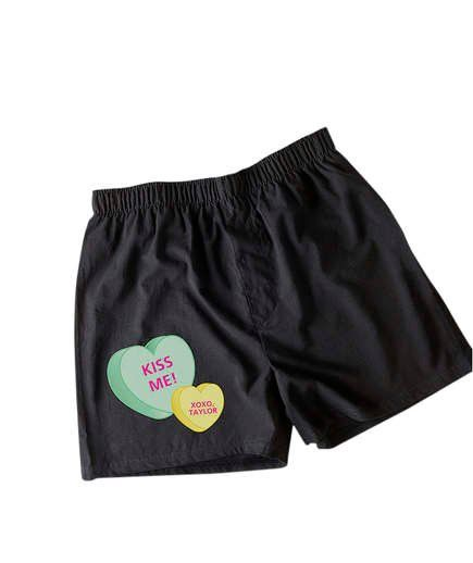 Romantic Christmas Gifts for a Husband | Personalized Boxers