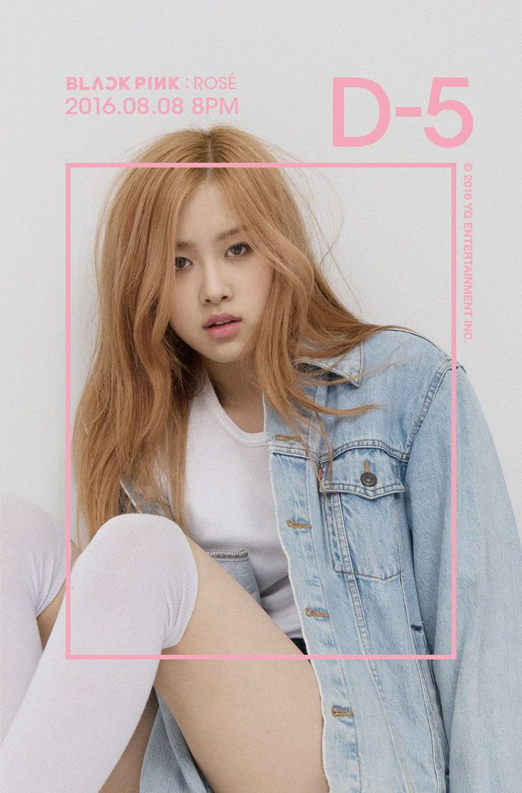 "#ROSÉ #BLACKPINK #블랙핑크 YG LIFE | BLACKPINK IN YOUR AREA D-5 ""ROSÉ"" http://www.yg-life.com/archives/78445 / YG LIFE 