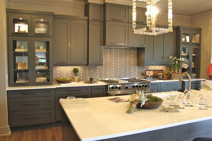 Best The Fat Hydrangea Grey Cabinets White Walls Or Light 400 x 300