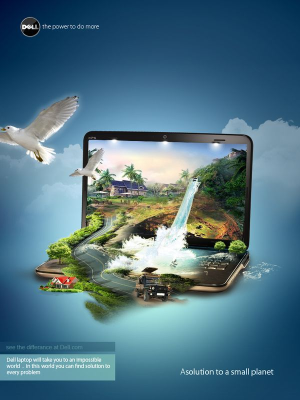 dell on Behance