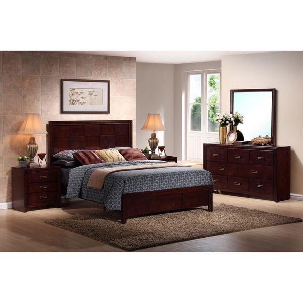 5-piece modern bedroom set