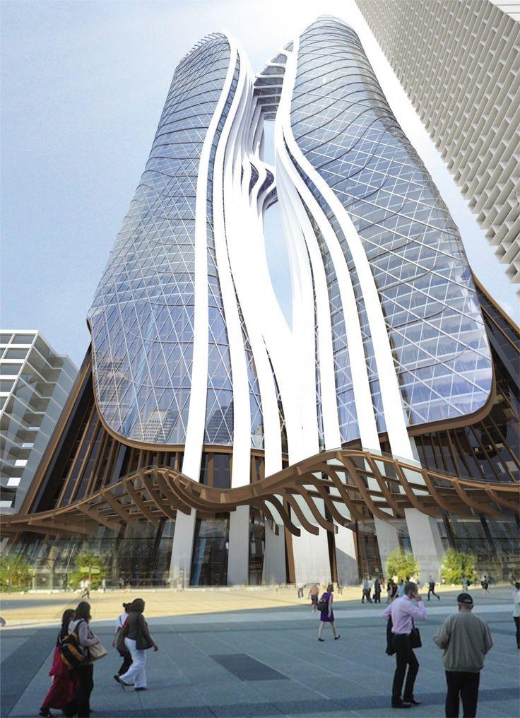 Parramatta Square – Stages 5 & 6 Towers Design Team: Esan Rahmani, Raymond Ng, Sergeij Cantillo Project Location: Parramatta, Australia