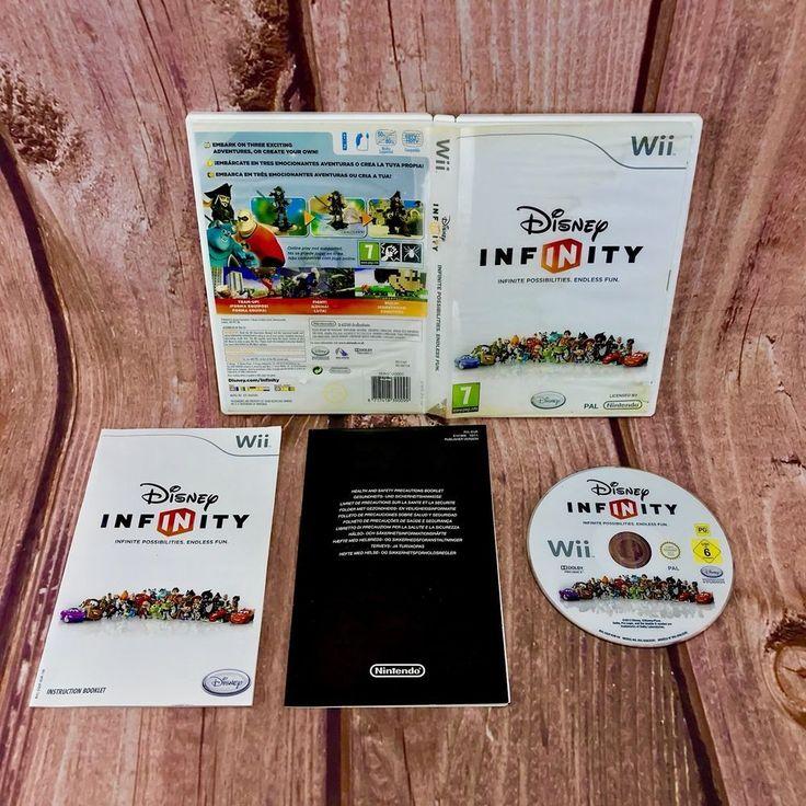 Nintendo Wii & wii U Game Disney Infinity Infinite Possibilities, Endless Fun #nintendowii #wiigames