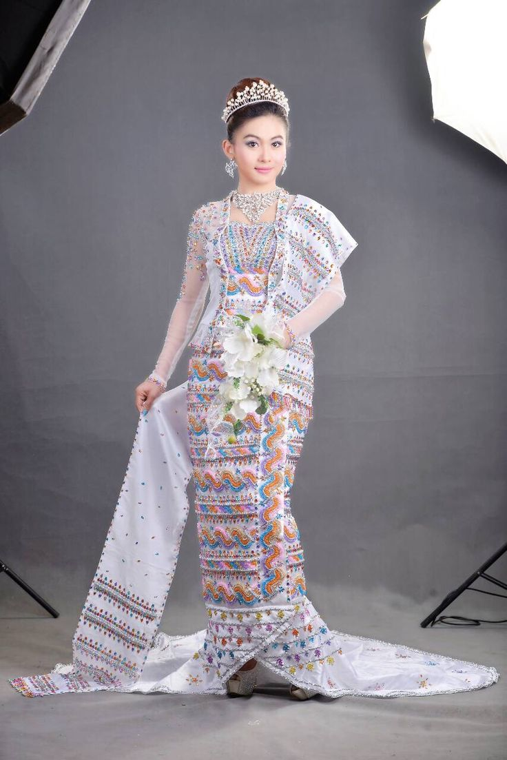 107 Best Myanmar Fashion Images On Pinterest