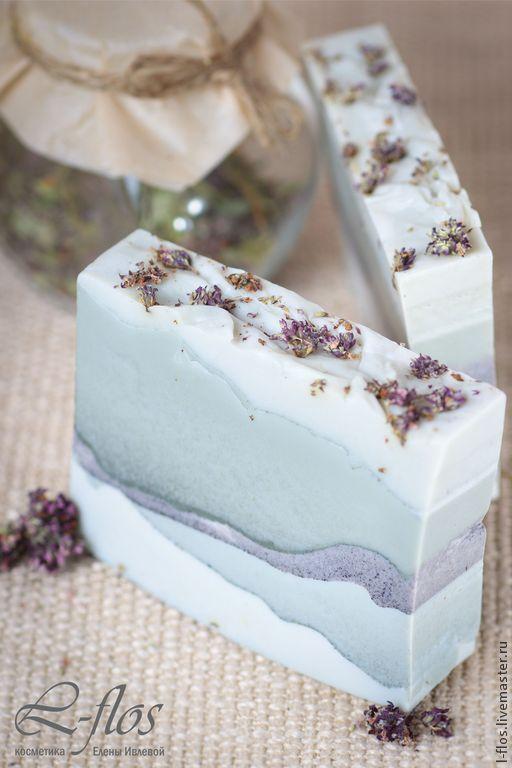 """Купить Мыло """"Альпийские горы"""" ручной работы - мыло ручной работы, натуральное мыло"""