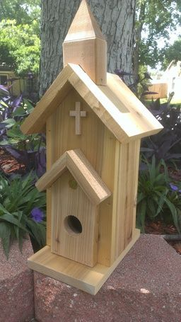 bird houses, feeders and planter boxes
