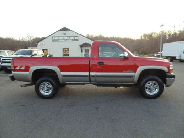 4X4 Trucks For Sale In Va >> WWW.EMAUTOS.COM 2002 Chevrolet Silverado 2500Hd LS Regular ...