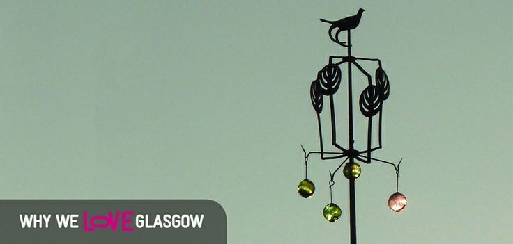It's Why We LOVE Glasgow Wednesday and this week we're featuring the distinctive weather vane atop of the Glasgow School of Art, designed by Charles Rennie Mackintosh!