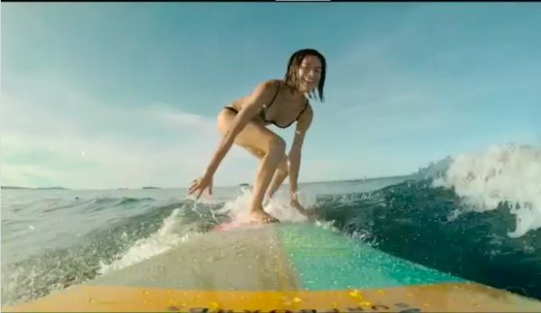 WATCH: Jericho Rosales, Jasmine Curtis-Smith, Erich Gonzales ride the waves in 'Siargao'