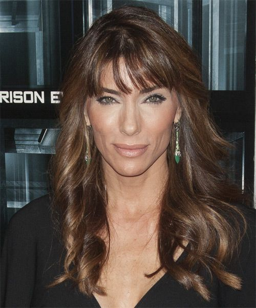 Jennifer Flavin Hairstyle - Casual Long Wavy. Click on the image to try on this hairstyle and view styling steps!