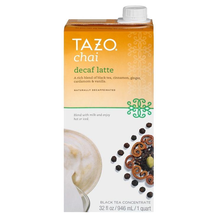 Tazo Chai Decaf Tea Latte, None - Dnu
