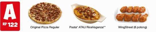 Menu Pizza Hut, Daftar Harga, Harga Paket, 2014, PHD Online Delivery, Paket Hemat, Pizza Hut,