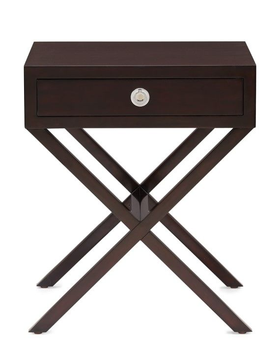 Hudson Side Table, Cocoa Stain