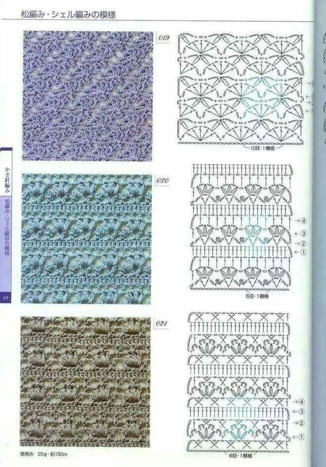 906 best ganchillo images on Pinterest | Crochet diagram, Crochet ...