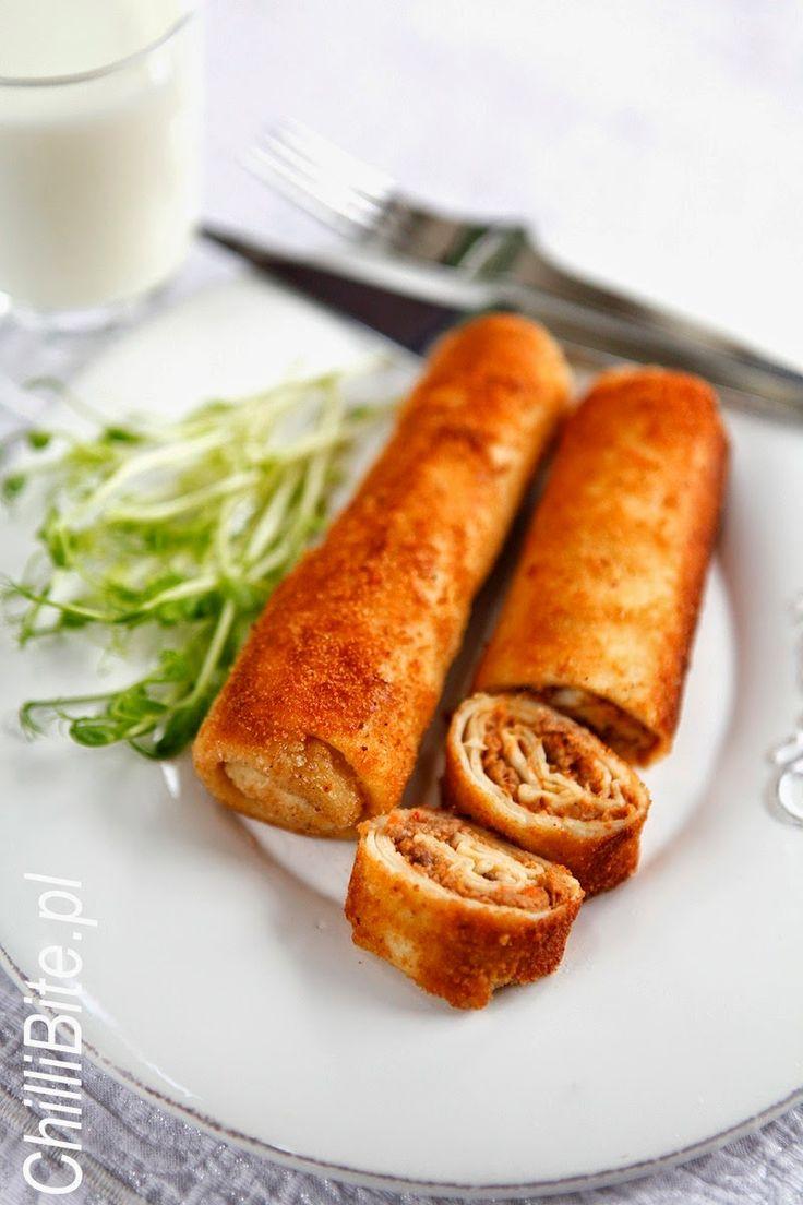 ChilliBite.pl - motywuje do gotowania!: Krokiety z mięsem - boskie!