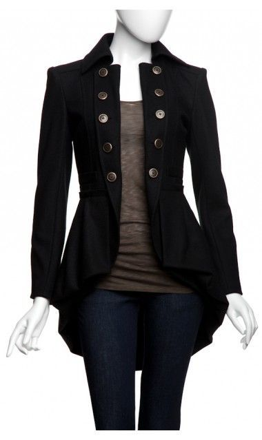 Nanette Lepore Sherlock Coat. | LovelyNess I want it now!!!!!