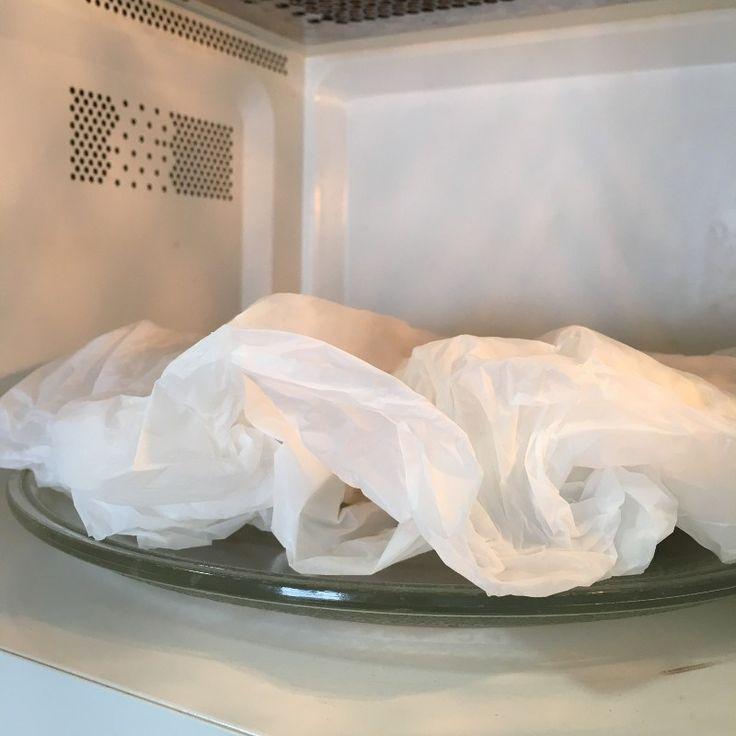 Como desamarelar panos de prato