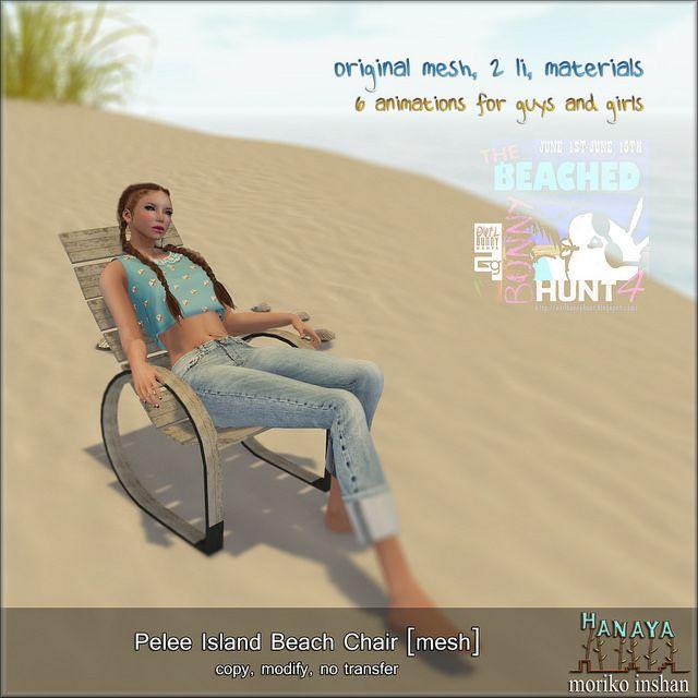 -Hanaya- Pelee Island Beach Chair [mesh] HUNT GIFT | Flickr - Photo Sharing!