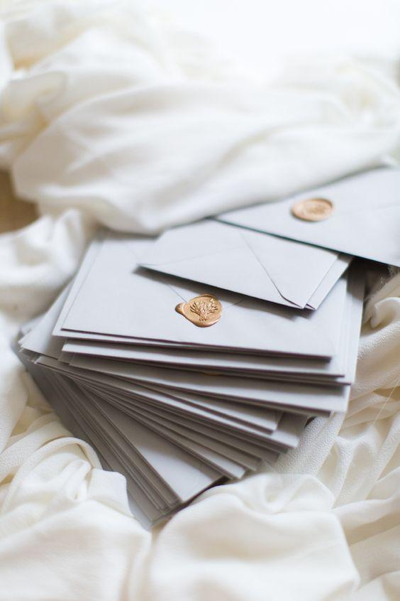 rustic chic spring wedding invitations/ elegant white spring wedding invitations