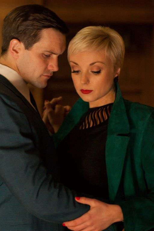 Another adorable couple. Tom and Trixie-- from Call The Midwife. They were so CUTE together!