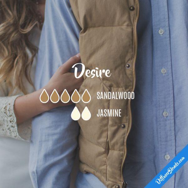 Desire - Essential Oil Diffuser Blend