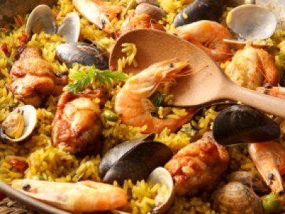 Receta de Paella Mixta